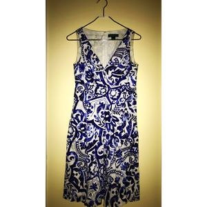 Ralph Lauren blue & white dress